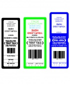 Custom Barcode Tags